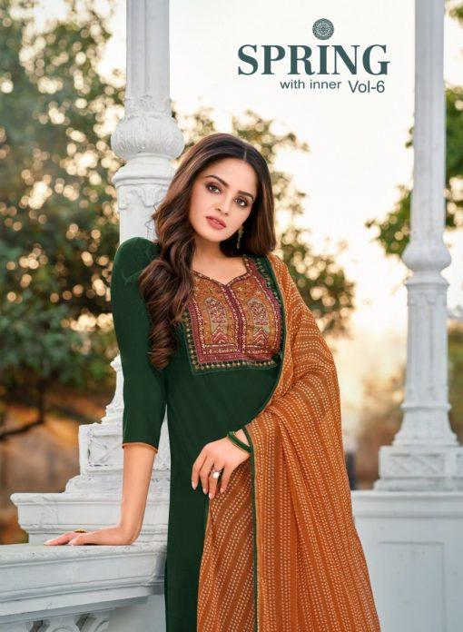 Kapil Trendz Spring Vol 6 Salwar Suit Wholesale Catalog 14 Pcs 1 510x696 - Kapil Trendz Spring Vol 6 Salwar Suit Wholesale Catalog 14 Pcs