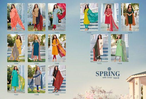 Kapil Trendz Spring Vol 6 Salwar Suit Wholesale Catalog 14 Pcs 16 510x347 - Kapil Trendz Spring Vol 6 Salwar Suit Wholesale Catalog 14 Pcs