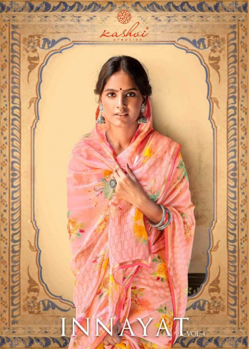 Kashvi Innayat Vol 4 by Lt Fabrics Saree Sari Wholesale Catalog 10 Pcs 1 510x714 - Kashvi Innayat Vol 4 by Lt Fabrics Saree Sari Wholesale Catalog 10 Pcs