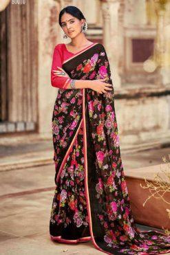 Kashvi Innayat Vol 4 by Lt Fabrics Saree Sari Wholesale Catalog 10 Pcs
