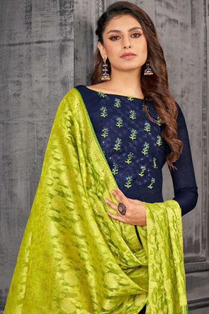 Kayce Kasmeera Queen Vol 5 Salwar Suit Wholesale Catalog 12 Pcs