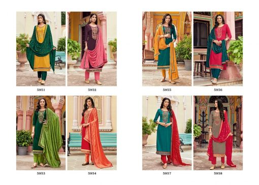 Kessi Bandhan Salwar Suit Wholesale Catalog 8 Pcs 11 510x365 - Kessi Bandhan Salwar Suit Wholesale Catalog 8 Pcs