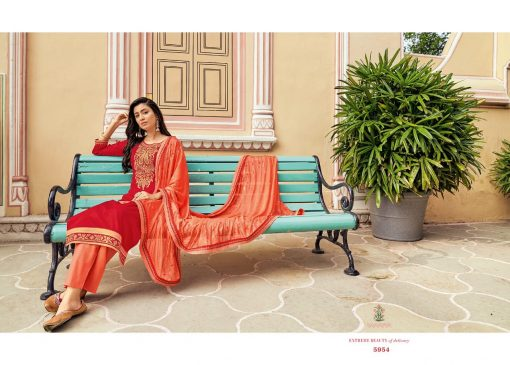 Kessi Bandhan Salwar Suit Wholesale Catalog 8 Pcs 5 510x365 - Kessi Bandhan Salwar Suit Wholesale Catalog 8 Pcs