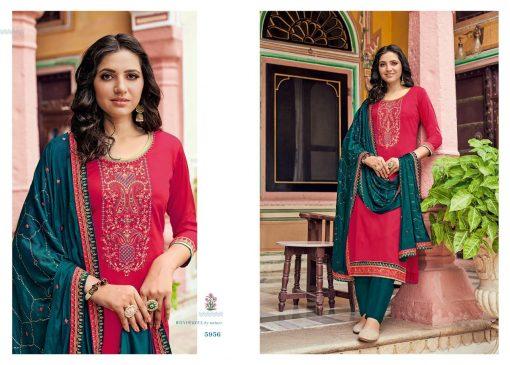 Kessi Bandhan Salwar Suit Wholesale Catalog 8 Pcs 6 510x365 - Kessi Bandhan Salwar Suit Wholesale Catalog 8 Pcs