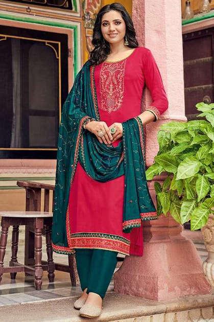 Kessi Bandhan Salwar Suit Wholesale Catalog 8 Pcs
