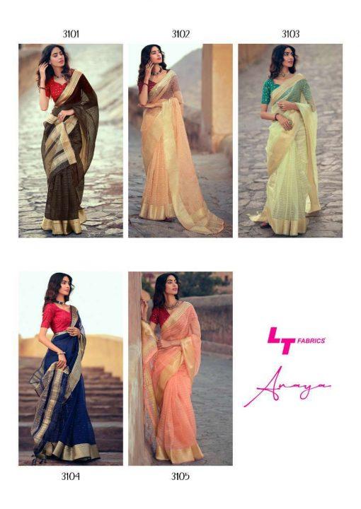 Lt Fabrics Anaya Saree Sari Wholesale Catalog 5 Pcs 14 510x720 - Lt Fabrics Anaya Saree Sari Wholesale Catalog 5 Pcs