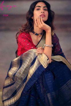 Lt Fabrics Anaya Saree Sari Wholesale Catalog 5 Pcs