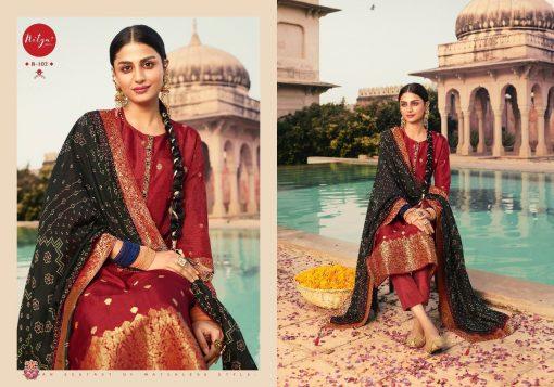 Lt Fabrics Nitya Bandhani Salwar Suit Wholesale Catalog 6 Pcs 6 510x357 - Lt Fabrics Nitya Bandhani Salwar Suit Wholesale Catalog 6 Pcs