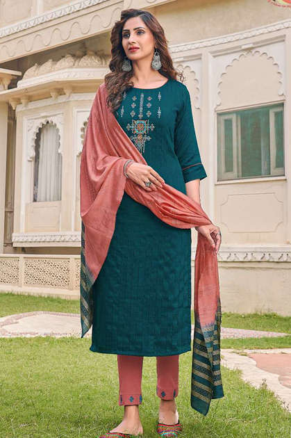 Manas Arina Kurti with Dupatta Bottom Wholesale Catalog 6 Pcs