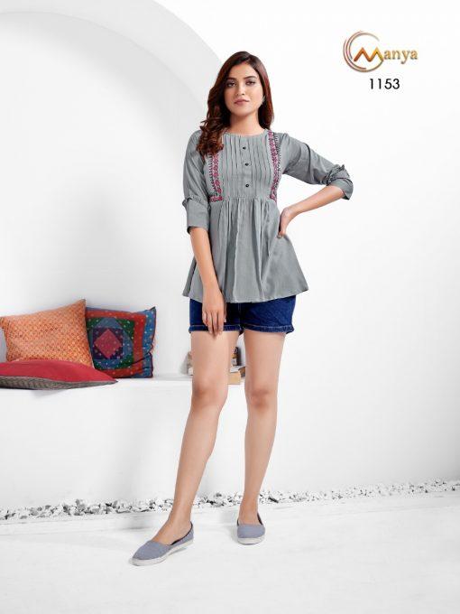 Manya Colors Vol 2 Tops Wholesale Catalog 6 Pcs 7 510x680 - Manya Colors Vol 2 Tops Wholesale Catalog 6 Pcs