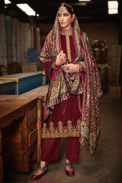 Mumtaz Arts Kanikar Velvet Vol 2 Salwar Suit Wholesale Catalog 8 Pcs