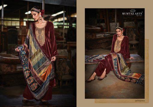 Mumtaz Arts Safaa Velvet Vol 1 Salwar Suit Wholesale Catalog 8 Pcs 11 510x359 - Mumtaz Arts Safaa Velvet Vol 1 Salwar Suit Wholesale Catalog 8 Pcs