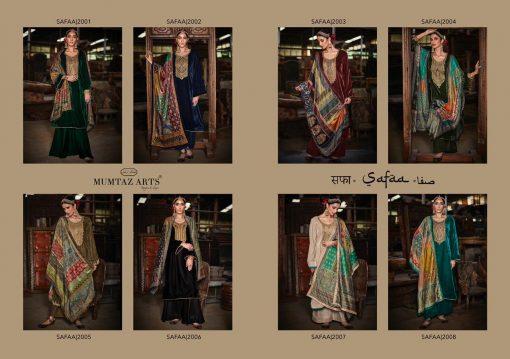 Mumtaz Arts Safaa Velvet Vol 1 Salwar Suit Wholesale Catalog 8 Pcs 13 510x359 - Mumtaz Arts Safaa Velvet Vol 1 Salwar Suit Wholesale Catalog 8 Pcs