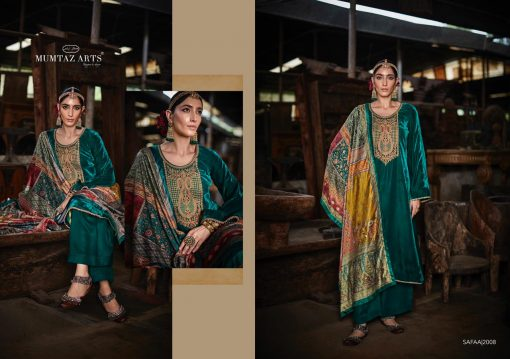 Mumtaz Arts Safaa Velvet Vol 1 Salwar Suit Wholesale Catalog 8 Pcs 2 510x359 - Mumtaz Arts Safaa Velvet Vol 1 Salwar Suit Wholesale Catalog 8 Pcs