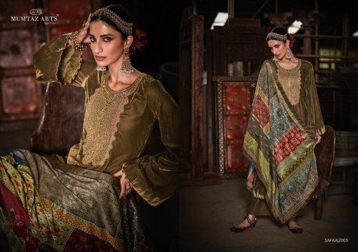 Mumtaz Arts Safaa Velvet Vol 1 Salwar Suit Wholesale Catalog 8 Pcs 7 510x359 - Mumtaz Arts Safaa Velvet Vol 1 Salwar Suit Wholesale Catalog 8 Pcs