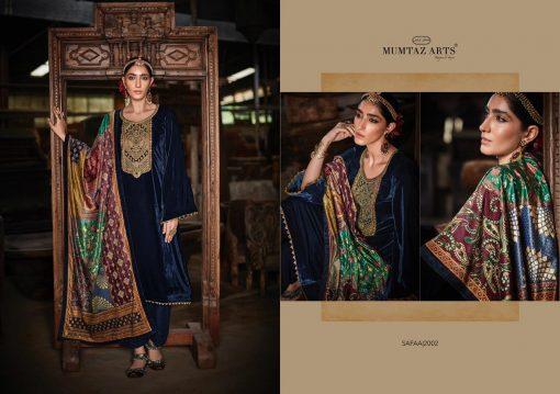 Mumtaz Arts Safaa Velvet Vol 1 Salwar Suit Wholesale Catalog 8 Pcs 8 510x359 - Mumtaz Arts Safaa Velvet Vol 1 Salwar Suit Wholesale Catalog 8 Pcs