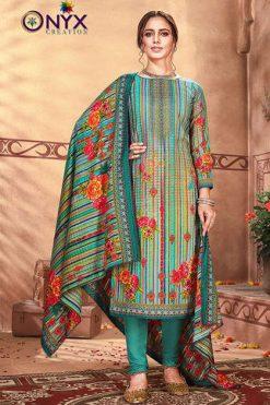 Onyx Mannat Pashmina Salwar Suit Wholesale Catalog 8 Pcs