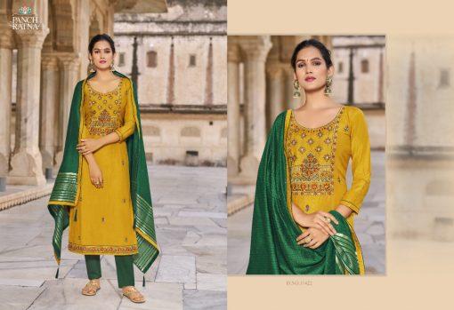 Panch Ratna Aaradhna by Kessi Salwar Suit Wholesale Catalog 5 Pcs 3 510x349 - Panch Ratna Aaradhna by Kessi Salwar Suit Wholesale Catalog 5 Pcs