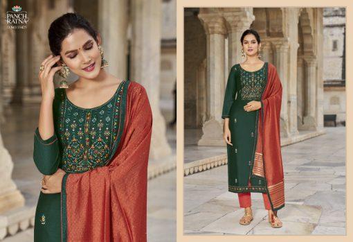 Panch Ratna Aaradhna by Kessi Salwar Suit Wholesale Catalog 5 Pcs 4 510x349 - Panch Ratna Aaradhna by Kessi Salwar Suit Wholesale Catalog 5 Pcs