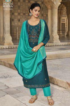 Panch Ratna Aaradhna by Kessi Salwar Suit Wholesale Catalog 5 Pcs