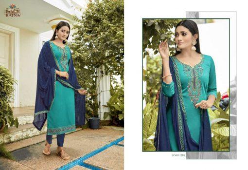 Panch Ratna Glamour by Kessi Salwar Suit Wholesale Catalog 5 Pcs 1 510x349 - Panch Ratna Glamour by Kessi Salwar Suit Wholesale Catalog 5 Pcs