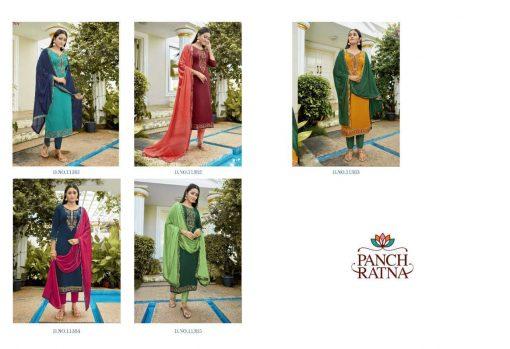 Panch Ratna Glamour by Kessi Salwar Suit Wholesale Catalog 5 Pcs 8 510x349 - Panch Ratna Glamour by Kessi Salwar Suit Wholesale Catalog 5 Pcs