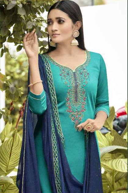 Panch Ratna Glamour by Kessi Salwar Suit Wholesale Catalog 5 Pcs
