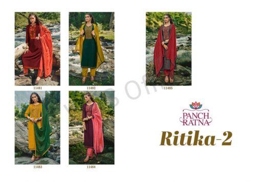 Panch Ratna Ritika Vol 2 by Kessi Salwar Suit Wholesale Catalog 5 Pcs 9 510x356 - Panch Ratna Ritika Vol 2 by Kessi Salwar Suit Wholesale Catalog 5 Pcs