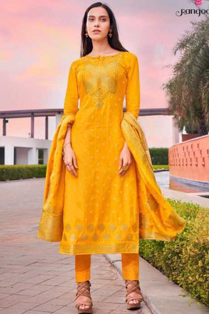 Rangoon Sakhi Saheli by Kessi Readymade Salwar Suit Wholesale Catalog 6 Pcs