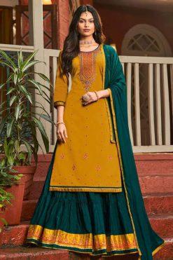 Rangoon Sangeet by Kessi Readymade Salwar Suit Wholesale Catalog 4 Pcs
