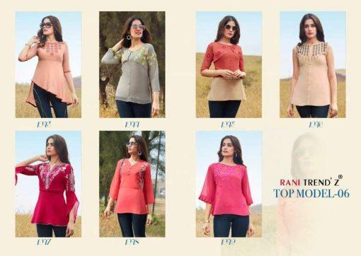 Rani Trendz Top Model Vol 6 Tops Wholesale Catalog 7 Pcs 10 510x362 - Rani Trendz Top Model Vol 6 Tops Wholesale Catalog 7 Pcs