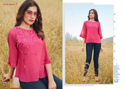 Rani Trendz Top Model Vol 6 Tops Wholesale Catalog 7 Pcs 6 510x362 - Rani Trendz Top Model Vol 6 Tops Wholesale Catalog 7 Pcs