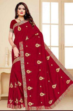 Ranjna One Plus Saree Sari Wholesale Catalog 8 Pcs