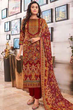 Roli Moli Zaara Pashmina Salwar Suit Wholesale Catalog 8 Pcs