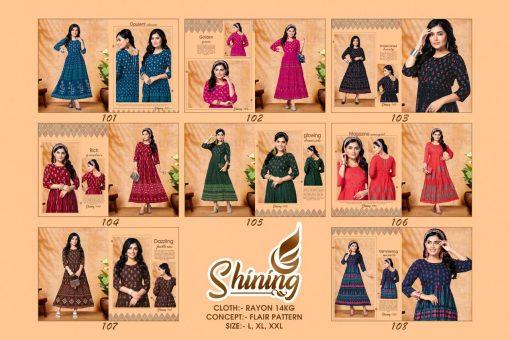 Shining Kurti Wholesale Catalog 8 Pcs 10 510x340 - Shining Kurti Wholesale Catalog 8 Pcs