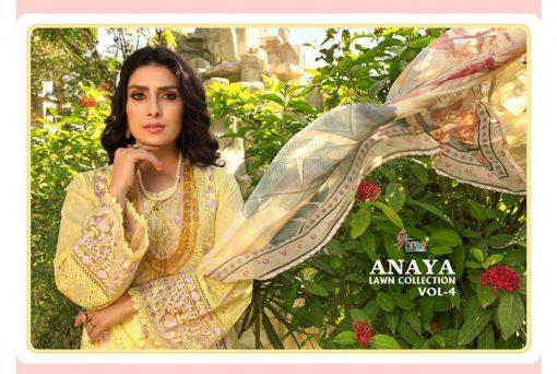 Shree Fabs Anaya Lawn Collection Vol 4 Salwar Suit Wholesale Catalog 6 Pcs 11 510x342 - Shree Fabs Anaya Lawn Collection Vol 4 Salwar Suit Wholesale Catalog 6  Pcs