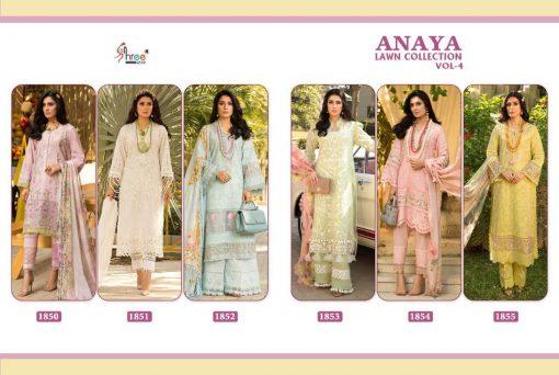Shree Fabs Anaya Lawn Collection Vol 4 Salwar Suit Wholesale Catalog 6 Pcs 14 510x342 - Shree Fabs Anaya Lawn Collection Vol 4 Salwar Suit Wholesale Catalog 6  Pcs