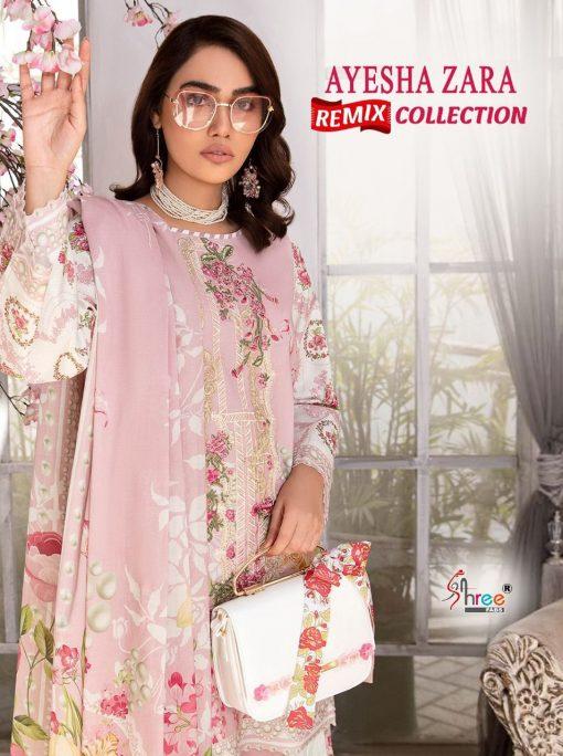 Shree Fabs Ayesha Zara Remix Collection Salwar Suit Wholesale Catalog 8 Pcs 1 510x684 - Shree Fabs Ayesha Zara Remix Collection Salwar Suit Wholesale Catalog 8 Pcs