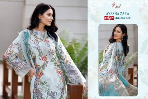 Shree Fabs Ayesha Zara Remix Collection Salwar Suit Wholesale Catalog 8 Pcs 13 510x342 - Shree Fabs Ayesha Zara Remix Collection Salwar Suit Wholesale Catalog 8 Pcs