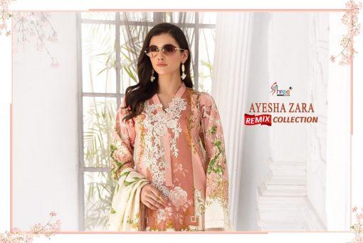 Shree Fabs Ayesha Zara Remix Collection Salwar Suit Wholesale Catalog 8 Pcs 3 510x342 - Shree Fabs Ayesha Zara Remix Collection Salwar Suit Wholesale Catalog 8 Pcs