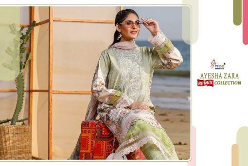 Shree Fabs Ayesha Zara Remix Collection Salwar Suit Wholesale Catalog 8 Pcs 8 510x342 - Shree Fabs Ayesha Zara Remix Collection Salwar Suit Wholesale Catalog 8 Pcs