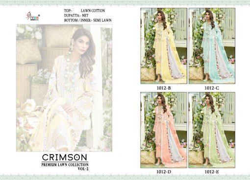Shree Fabs Crimson Premium Lawn Collection Vol 2 Salwar Suit Wholesale Catalog 4 Pcs 6 510x368 - Shree Fabs Crimson Premium Lawn Collection Vol 2 Salwar Suit Wholesale Catalog 4 Pcs