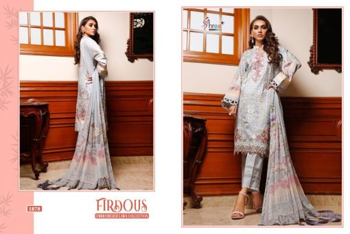 Shree Fabs Firdous Embroidered Lawn Collection Salwar Suit Wholesale Catalog 7 Pcs 10 510x342 - Shree Fabs Firdous Embroidered Lawn Collection Salwar Suit Wholesale Catalog 7 Pcs