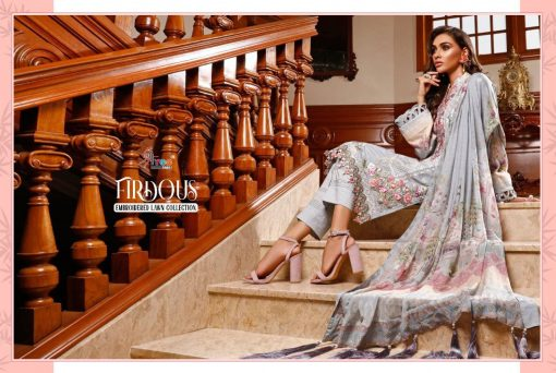 Shree Fabs Firdous Embroidered Lawn Collection Salwar Suit Wholesale Catalog 7 Pcs 11 510x342 - Shree Fabs Firdous Embroidered Lawn Collection Salwar Suit Wholesale Catalog 7 Pcs