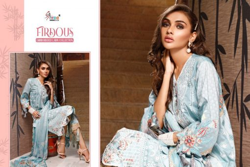 Shree Fabs Firdous Embroidered Lawn Collection Salwar Suit Wholesale Catalog 7 Pcs 14 510x342 - Shree Fabs Firdous Embroidered Lawn Collection Salwar Suit Wholesale Catalog 7 Pcs