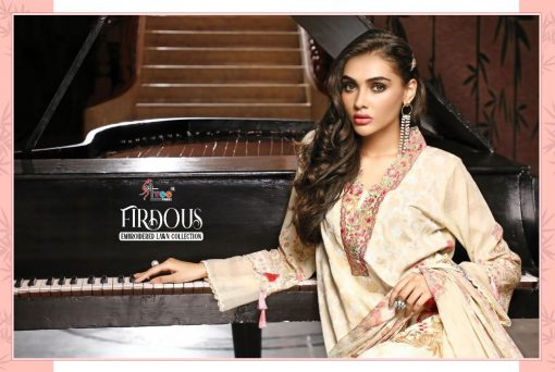 Shree Fabs Firdous Embroidered Lawn Collection Salwar Suit Wholesale Catalog 7 Pcs 6 510x342 - Shree Fabs Firdous Embroidered Lawn Collection Salwar Suit Wholesale Catalog 7 Pcs