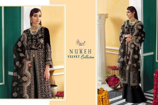 Shree Fabs Nureh Velvet Collection Salwar Suit Wholesale Catalog 4 Pcs 6 510x340 - Shree Fabs Nureh Velvet Collection Salwar Suit Wholesale Catalog 4 Pcs