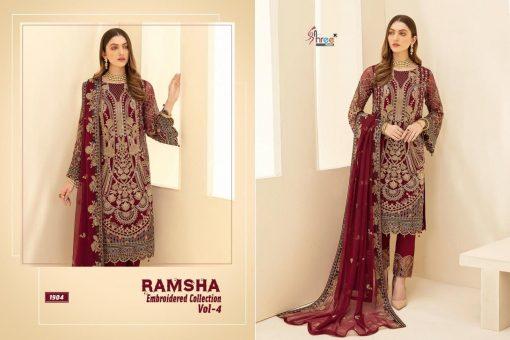 Shree Fabs Ramsha Embroidered Collection Vol 4 Salwar Suit Wholesale Catalog 6 Pcs 4 510x340 - Shree Fabs Ramsha Embroidered Collection Vol 4 Salwar Suit Wholesale Catalog 6 Pcs