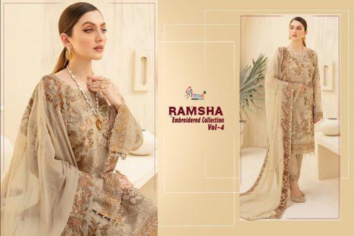 Shree Fabs Ramsha Embroidered Collection Vol 4 Salwar Suit Wholesale Catalog 6 Pcs 5 510x340 - Shree Fabs Ramsha Embroidered Collection Vol 4 Salwar Suit Wholesale Catalog 6 Pcs