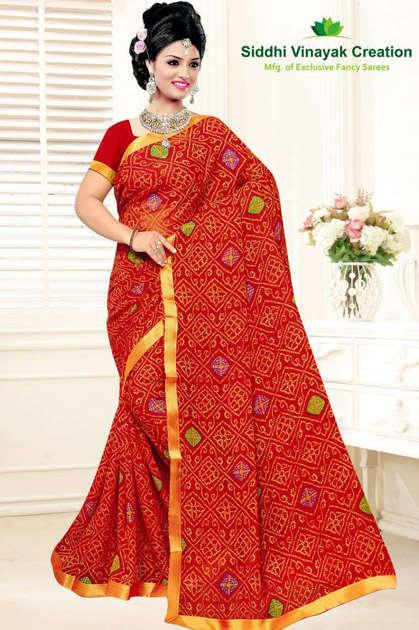 Siddhi Vinayak Creation Panghat Vol 2 Saree Sari Wholesale Catalog 7 Pcs